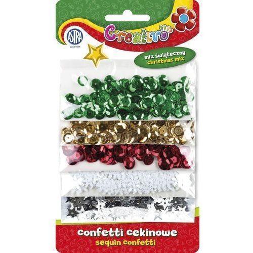 Confetti cekiny mix świąteczny ASTRA