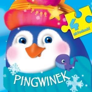 4 układanki - Pingwinek