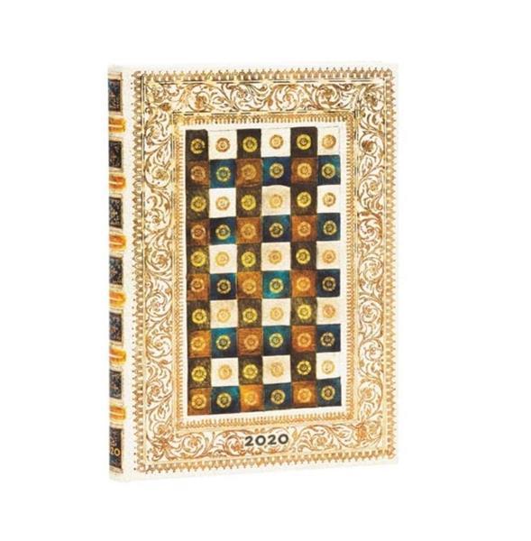 Kalendarz książkowy midi 2020 12M hor. Aureo