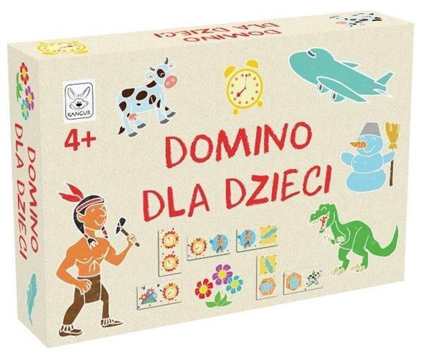 Domino dla Dzieci KANGUR