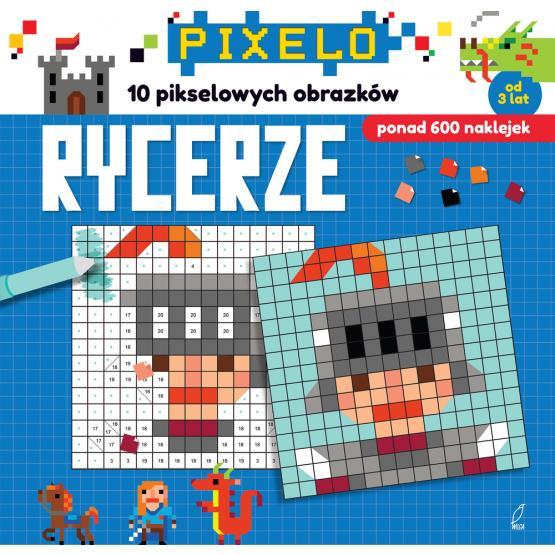 Pixelo Rycerze 10 obrazków 600 naklejek outlet