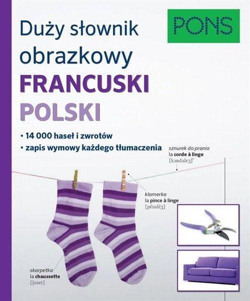 Duży słownik obrazkowy fran-pol PONS