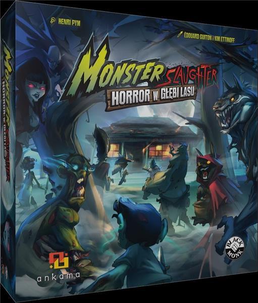 Monster Slaughter; Horror w Głębi Lasu BLACK MONK