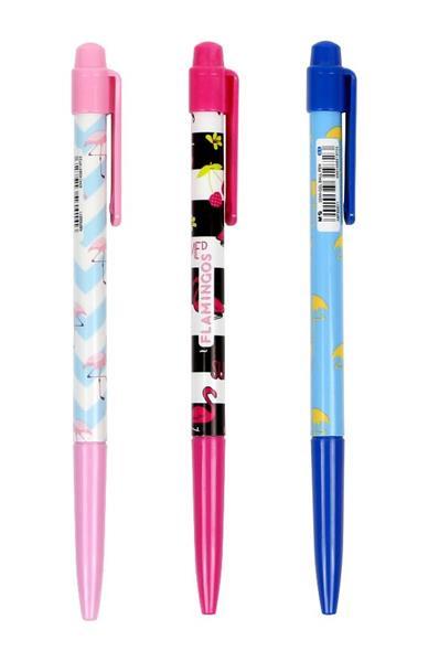 Długopis żelowy Flamingos niebieski 2szt M&G
