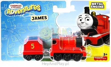 Fisher Price T&F Duża lokomotywka, James