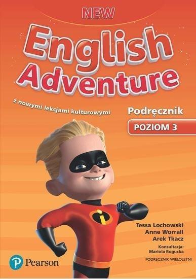 English Adventure New 3 SB + CD PEARSON