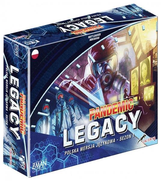 Pandemic Legacy - Edycja niebieska LACERTA