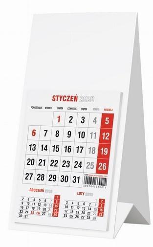Kalendarz 2020 KBM Biurkowy Mini AVANTI