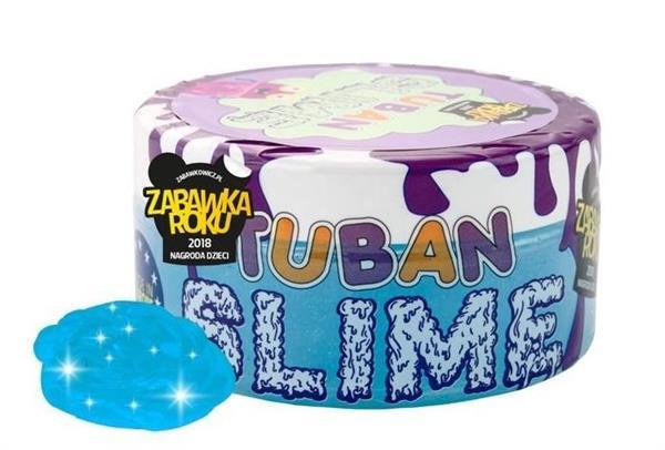 Slime brokat neon niebieski 0,2kg TUBAN