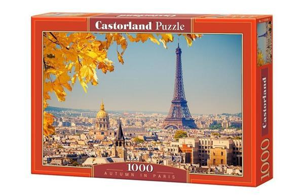 Puzzle 1000 Jesień w Paryżu CASTOR
