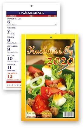 Kalendarz zdzierak 2020 - Kuchnia i Ty KL3