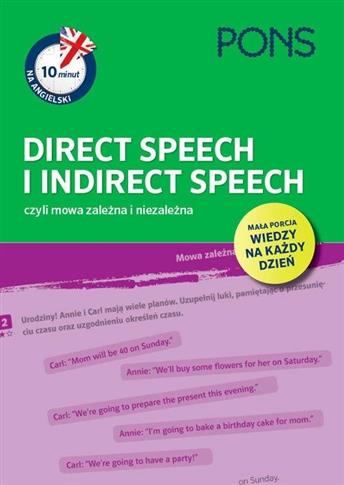 10 minut na ang. Direct Speech i Indirect Speech
