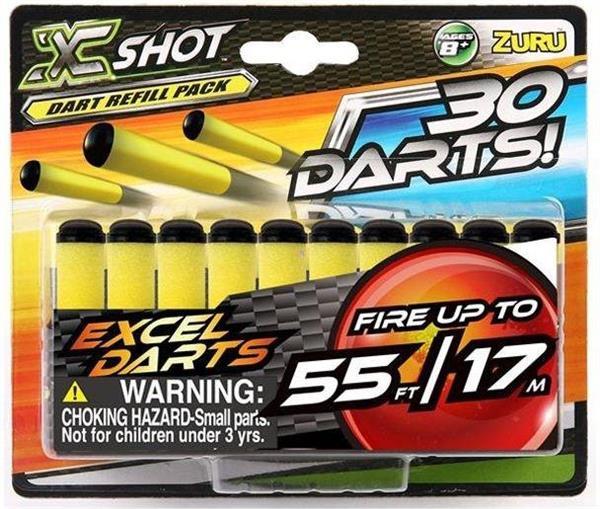 X-Shot 30 strzałek
