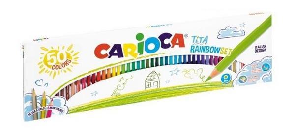 Kredki ołówkowe Tita 50 kolorów CARIOCA