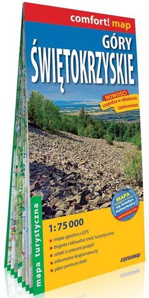 Comfort! map Góry Świętokrzyskie mapa turystyczna