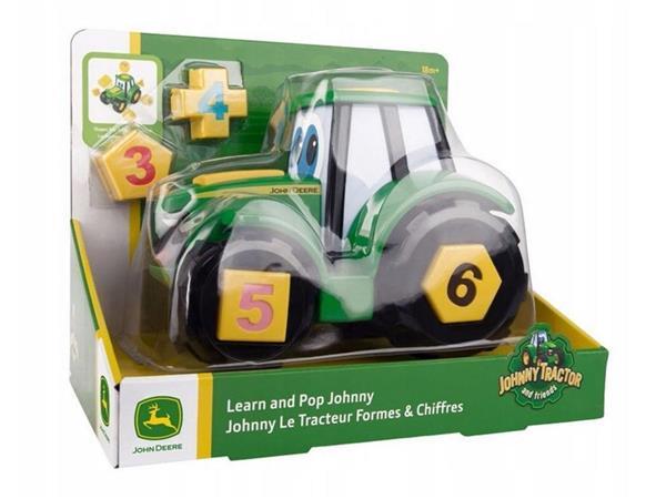 John Deere ucz się i baw z traktorem TOMY