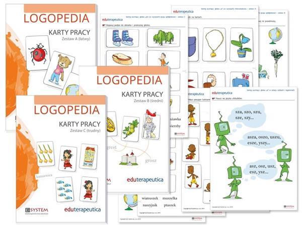 Karty pracy - Logopedia