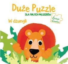 Duże puzzle dal małych paluszków - W dżungli