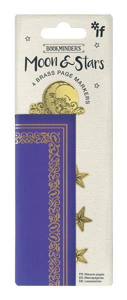 Bookminders - zestaw 4 metalowych zakładek