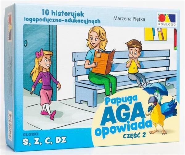 Historyjki obrazkowe. Papuga Aga Opowiada cz. 2