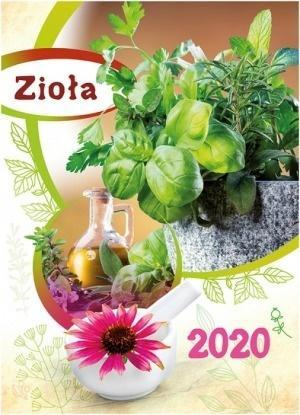 Kalendarz 2020 Ścienny Zioła