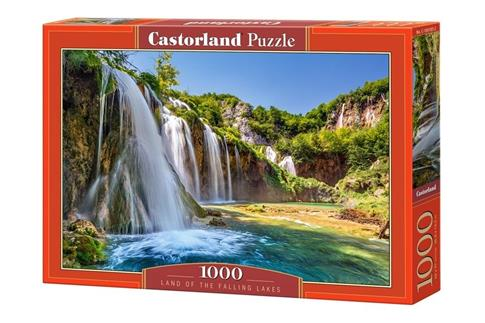 Puzzle 1000 Land of the Falling Lakes CASTOR