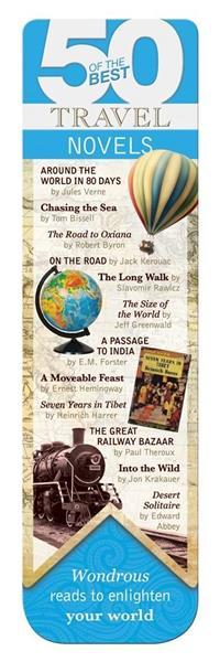 50 BEST - Travel - magnetyczna zakładka do książki