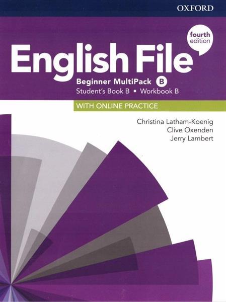 English File 4E Beginner Multipack B + online