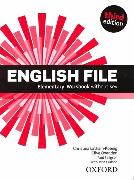 English File 3E Elementary WB OXFORD