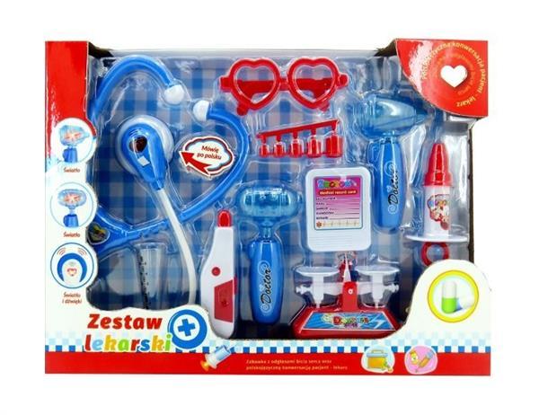 Zestaw lekarski z polskim modułem dźwiękowym 2