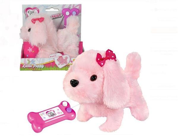 Chi Chi Love Słodki szczeniak na kabel różowy
