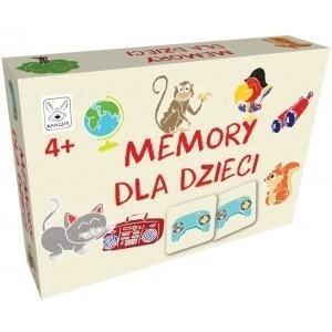 Memory dla dzieci 4+