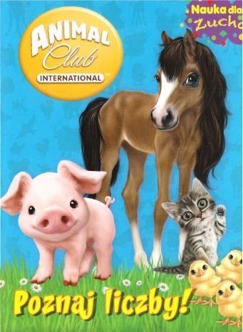 Animal Club. Nauka dla zucha. Poznaj liczby!