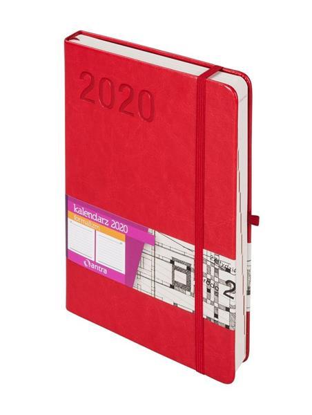 Kalendarz 2020 Formalizm A5 Czerwony DNS ANTRA