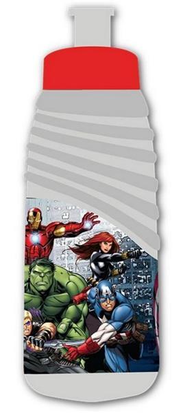 Bidon plastikowy Avengers szary