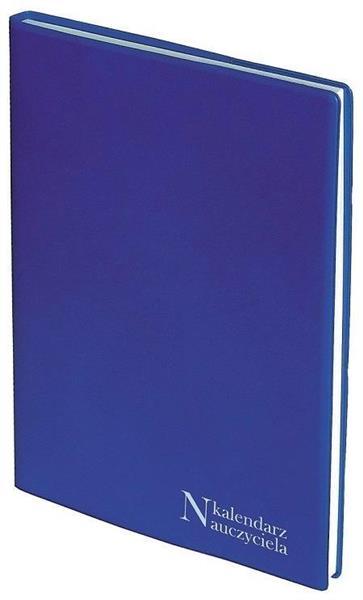 Kalendarz Nauczyciela A5 2019/2020 PCV niebieski