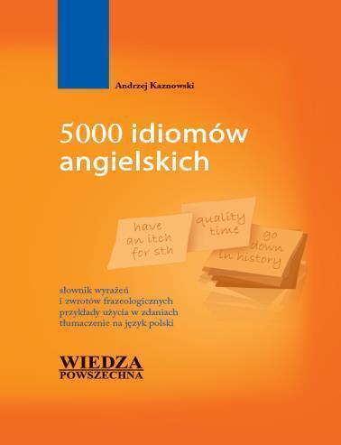 5000 idiomów angielskich