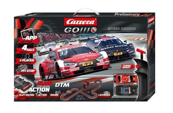 Carrera GO!!! - DTM Speed Record 6,8 m