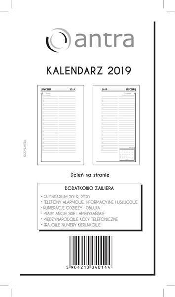 Kalendarz 2019 Wkład ST DNS ANTRA