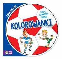 Piłkarskie kolorowanki - piłka cz.2
