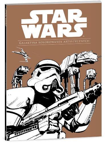 Star Wars. Galaktyka kolorowanek artystycznych-45493