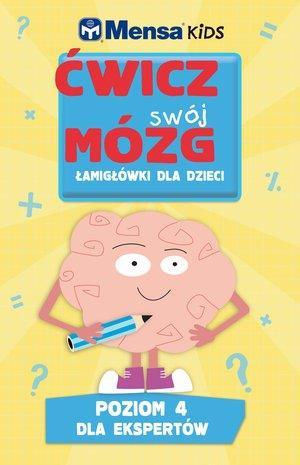 Mensa Kids Ćwicz swój mózg. Łamigłówki dla dzieci.-29350