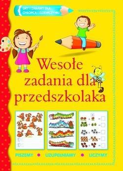 Wesołe zadania dla przedszkolaka-52418