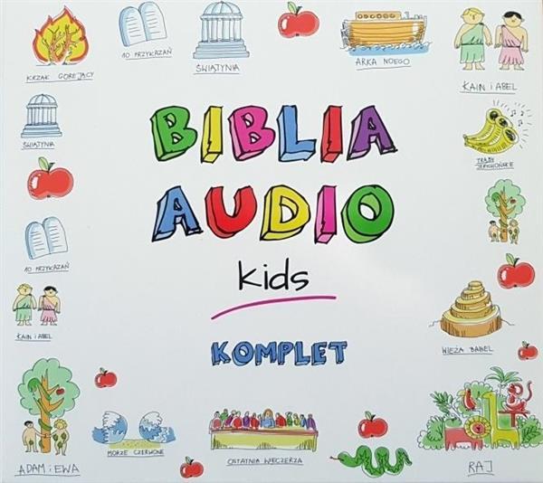 Biblia Audio Kids. Komplet