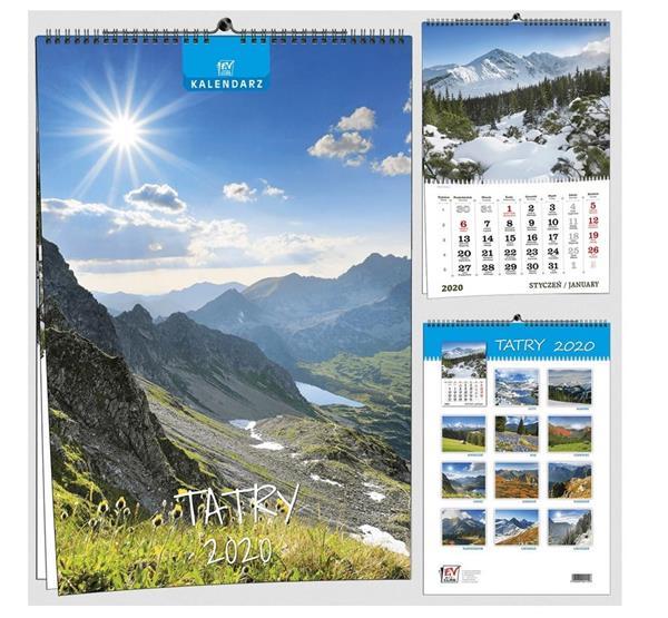 Kalendarz 2020 13 Plansz B3 - Tatry EV-CORP