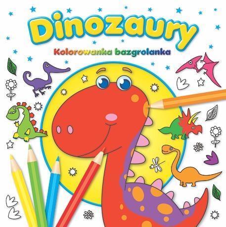 Kolorowanka bazgrolanka - Dinozaury