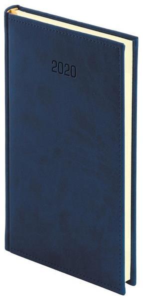 Kalendarz 2020 A6 Tygodniowy Vivella Granat
