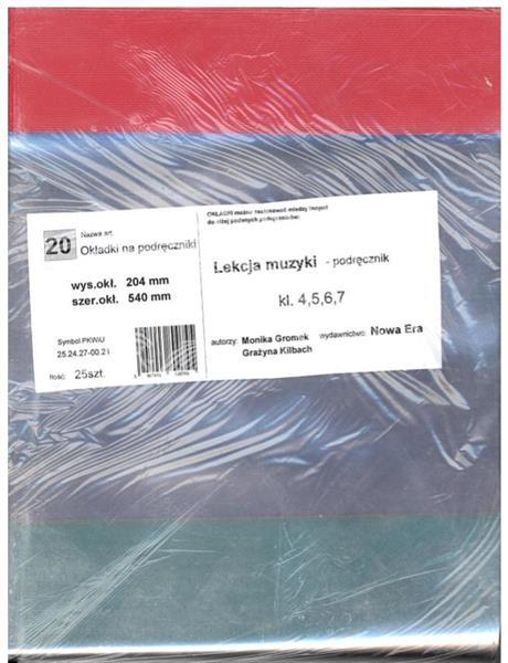 Okładka na podręcznik Lekcja muzyki (25szt) NARNIA