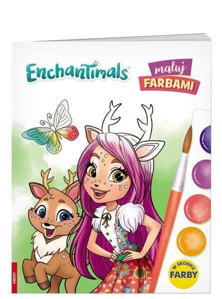 Maluj farbami. Enchantimals