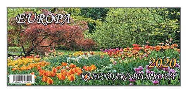 Kalendarz 2020 Biurkowy B4 Europa BESKIDY